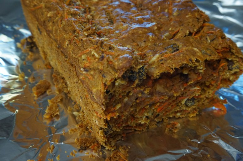 Healthy Whole Grain Carrot Coconut Morning Glory Bread - no, I did not create this name myself.
