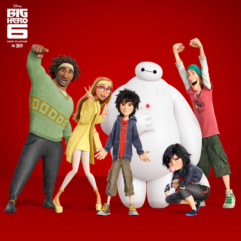 Photo courtesy of Big Hero 6 Facebook