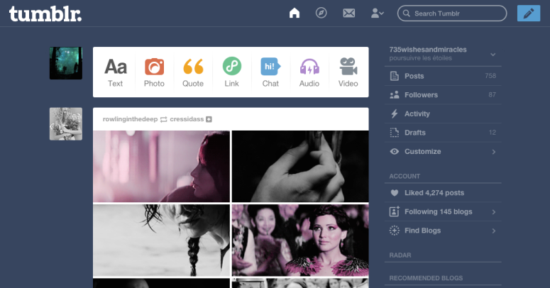 Judge me by my dashboard, why don't you.