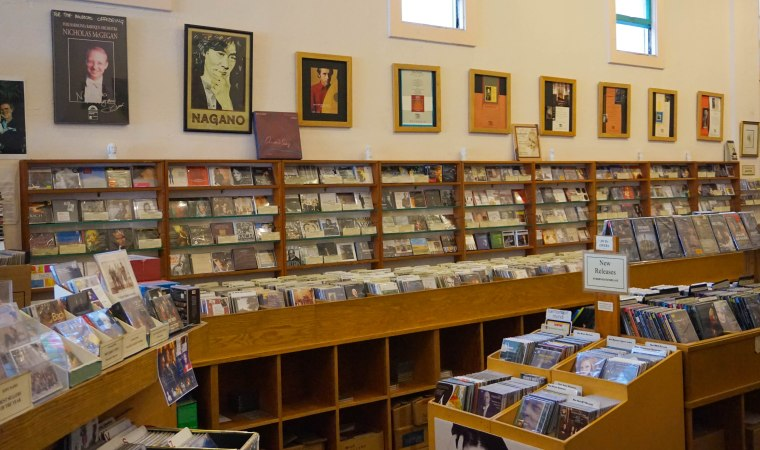 CDs on CDs on CDs | Photo by Courtney Cheng