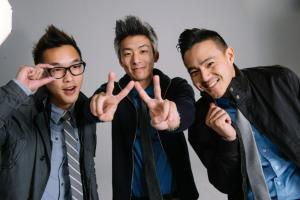 From left to right: Wesley Chan, Ted Fu, Philip Wang | Photo Courtesy of Wong Fu Productions