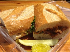 Sam's Famous Chicken Sandwich | Photo Courtesy of Erik L., Yelp