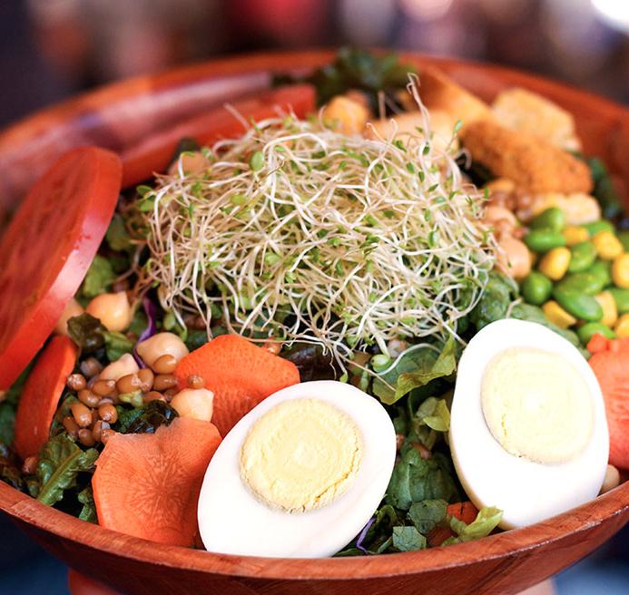 Garden Delight Salad | Photo Courtesy of Smart Alec's