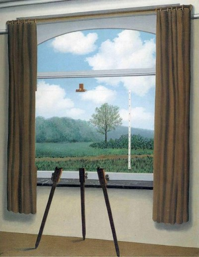 The Human Condition_Magritte